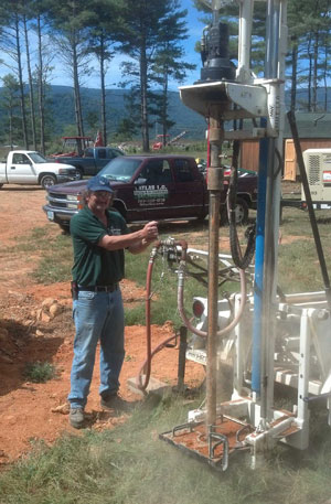 Drilling for the geothermal system